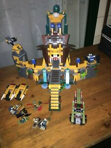 Lego 70010 Legends of Chima, The Lion Chi Temple, Pre-Owned, Complete, no box.
