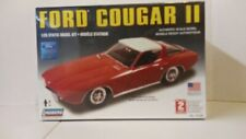 VINTAGE LINDBERG 1/25 SCALE FORD COUGAR II PLASTIC MODEL KIT
