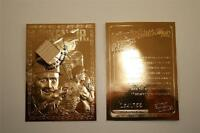 CAL RIPKEN JR 2002 Game Used Bat 23KT Gold Card Sculptured NM-MT Limited #/755