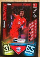 Topps On Demand - Topps  - Rookie Sonderkarte FC Bayern München JOSHUA ZIRKZEE