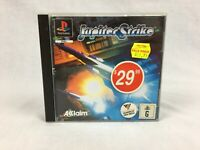 Jupiter Strike - With Manual - PS1 - Playstation 1 - PAL
