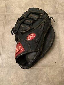 "RAWLINGS Renegade First Baseman Glove Mitt RHT 12 1/2"" RFBRB - Black"