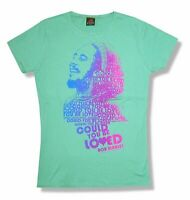 Bob Marley Could You Be Loved Green Girls Juniors T Shirt New Official Merch