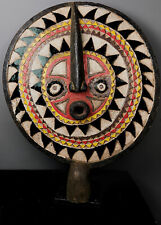 More details for old tribal large bwa sun mask       ---  burkina faso bn 54