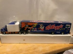 Kelloggs Tony Tiger Racing Semi Truck Transporter Hendrick Labonte 1996 SEALED