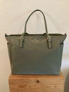 Kate Spade Diaper Bag/Tote Olive Green