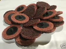 """Roloc Style 2"""" 50mm Maroon Medium Gasket Buffing Disc Surface Conditioning Strip"""