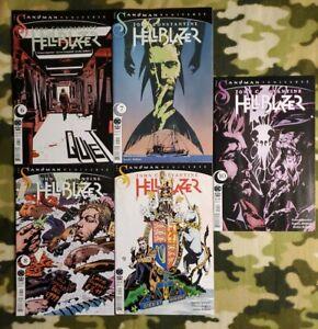 John Constantine Hellblazer NM #6-10 DC Black Label Sandman Universe Spurrier