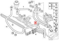 Genuine BMW E46 Cabrio Compact Coupe Pressure Hose Assembly OEM 32416766962