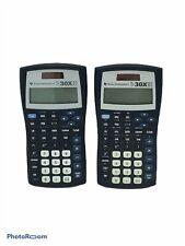 🔥2 Texas Instrument TI-30XIIS Calculator Black Statistics and Advanced Science
