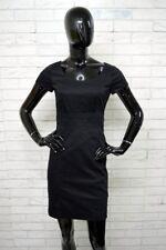 Vestito Donna H&M Taglia 36 Abito Dress Tubino Woman Elastico Nero PARI AL NUOVO