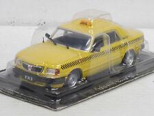 Wolga GAZ 3110 Taxi-- dunkelgelb-- 1/43--IXO/IST/Kultowe Auta PRL--NEU--OVP