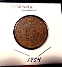 1854 Luxembourg 5 Centimes - High Grade