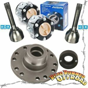 Part Time 4wd Conversion kit Heavy Duty With AISIN HUBS fits Toyota 105 Series