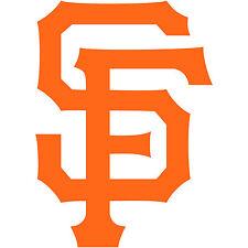 "San Francisco SF City Logo 2"" Sticker Decal Vinyl Car Window Baseball Giants 2x"