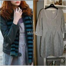 Noa Noa Cosplay Grey Mist Melange Dress - Size Small 6 8