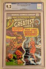 Marvel's Greatest Comics 49 (5/74) CGC 9.2 NM-! Rprt FF 66 Origin of Him/Warlock
