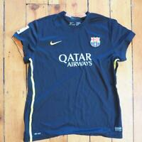 Nike Dri Fit FCB Barcelona Qatar Airways Authentic Soccer Jersey. Womens XL