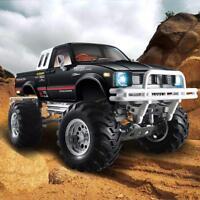 HG P407/407A 1/10 4WD 3CH Rally RC Car Metal 4X4 Pickup Truck Racing Crawler RTR