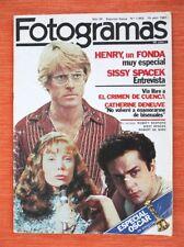 Revista FOTOGRAMAS de Abril de 1981, Especial OSCARS. Muy Coleccionable!