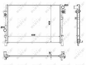NRF 53901 Kühler Motorkühlung