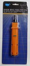 Telecom Impact Punch Down Tool Professional Type New #53-411
