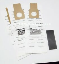 Kenmore 54322 3 Pack Style C/Q Canister Vacuum Bags 1 foam filter.