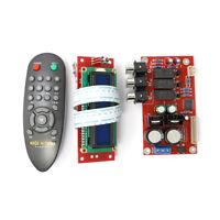 PGA2311 Stero Volume Preamp Remote Control  Preamplifier Board with LCD