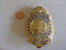 Sheriff Stern  Abzeichen   Alaska Police  mit ZERTIFIKAT
