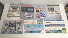 Family Basic V3 Robot Shin Onigashima Mario Famicom NES Flyer Art Poster Japan