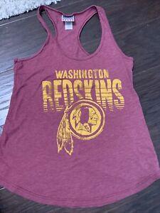 Junk Food Womens NFL Washington Redskins Tank Top Shirt New S
