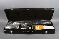 NEW Bass Clarinet Synthetic Wood Nice Model PADS And Case Low Eb Nice Tone