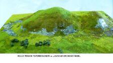 "Javis scenic's ""00"" & ""N"" Summer Green Rough Terrain Mat 380mm x 165mm JHILL2"