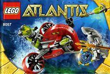 Lego Atlantis # 8057 Wreck Raider - Bauanleitung (keine Steine!)