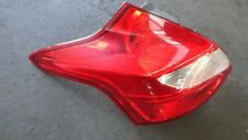 Ford Focus 2011 LW Trend Hatch Tail Light Passengers Side Left