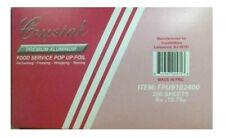 Crystal  Premium Aluminum Foil Pop Up Sheets, 9