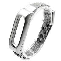 Mode Edelstahl Metall WristStrap Armband Armband Ersatz für Xiaomi Mi Band- K4Y0