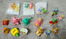 Vintage 1986 Muppet Babies McDonalds Happy Meal Toys + other Happy Meal Toys