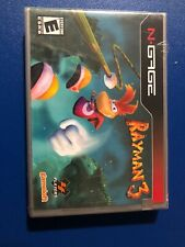 Rayman 3 (N-Gage, 2004), New, Sealed, Rare