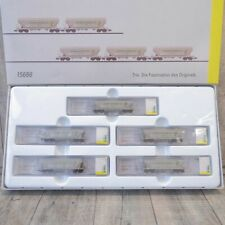 MINITRIX 15666 - Spur N - 5 tlg. Set - Getreidesilowagen - SNCF - OVP - #H32203