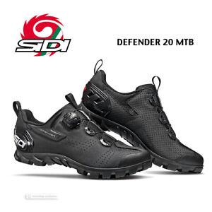 Sidi DEFENDER 20 MTB Outdoor Mountain Bike Shoes : BLACK - NEW IN BOX