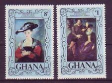 Echte Briefmarken aus Afrika mit Kunst-Motiv