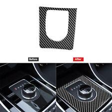 Carbon Fiber Gear Shift Panel Outer Frame Cover Trim Fit For Jaguar F-PACE XE XF