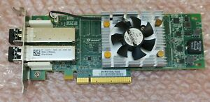 QLE2662 Dell QLogic 16Gb FC Dual Port HBA QLE2662L-DELL 7JKH4 16Gbps QLE2652