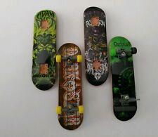 Lot of 4 Tech Deck Darkstar Vintage Fingerboard Skateboards