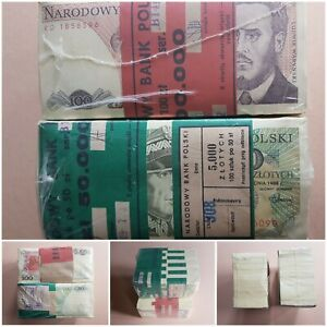 Poland 1991 bank notes old currency UNC bank