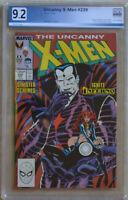 UNCANNY X-MEN #239 (Dec 1988 | Marvel) PGX 9.2 (NM-) Like CGC - White Pages