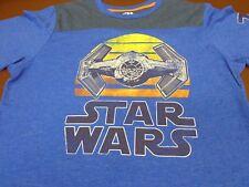 Star Wars TIE Fighter 77 Blue T Shirt Rogue One XL Tee Fifth Sun    A5