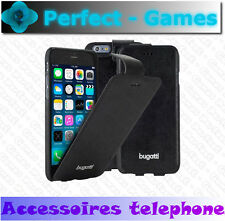 BUGATTI coque étui flipcase Geneva Apple iPhone 6 PLUS 6S PLUS noir black