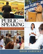 Public Speaking : Strategies for Success by David Zarefsky (2013, Paperback)